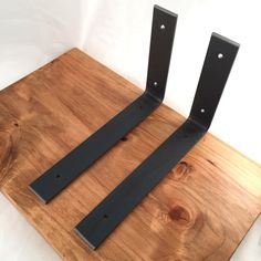 Custom Angle Shelf Bracket Handcrafted Rustic Reclaimed
