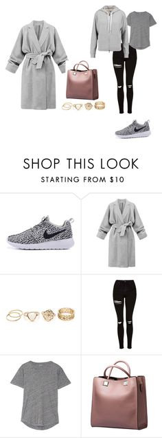 """""""Athleisure"""" by laura-leigh-rossoll on Polyvore featuring Topshop, Madewell and rag & bone"""
