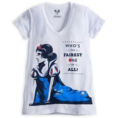 Snow White Fashion Tee for Women