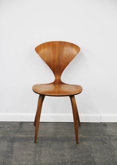Pair of Bentwood Cherner Chairs for Plycraft | From a unique collection of antique and modern dining room chairs at https://www.1stdibs.com/furniture/seating/dining-room-chairs/