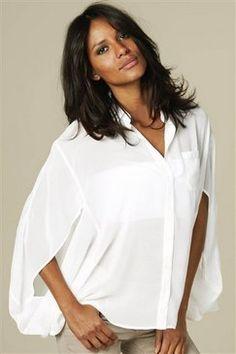 Такие разные белые блузки