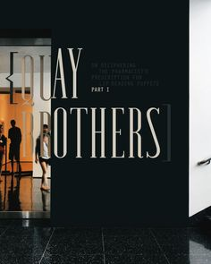 Quay Brothers, MoMA, The Department of Advertising and Graphic Design