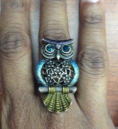 My owl ring. <3