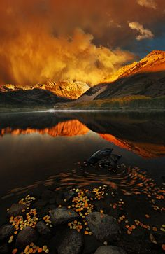 ~~The Autumnal Equinox | thunderstorm and reflections, North Lake, Bishop, California | by Bsam~~