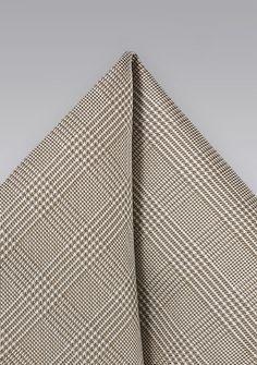 Ziertuch Karo-Struktur sandfarben