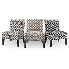 Contemporary Accent Chair with Pillow - Overstock Shopping - Great Deals on HomePop Living Room Chairs