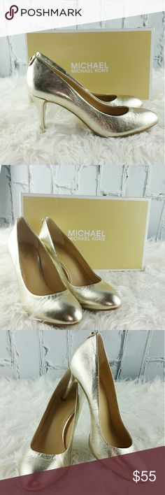 🌲FLASH SALE🌲Michael Kors Golden Flex Pumps Gorgeous Michael Kors Golden Flex Pumps Michael Kors Shoes Heels