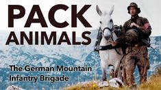 The German Mountain Infantry Brigade are the last brigade in the Bundeswehr (German Armed Forces) that use horses and mules. The mules are used to .