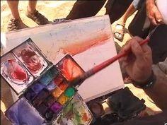 Alvaro Castagnet watercolor - seascape.wmv - YouTube