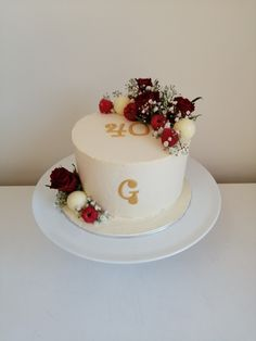 Rose Cake, The Hamptons, Raspberry, Cakes, Desserts, Food, Deserts, Kuchen, Dessert