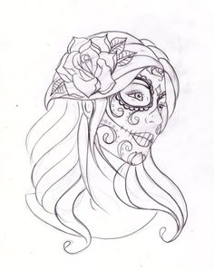 016: day of the dead 2 by Nevermore-Ink on deviantART