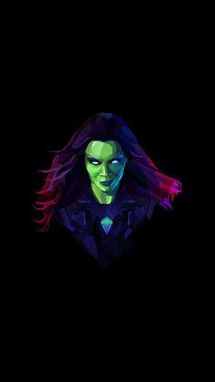 Gamora Neon