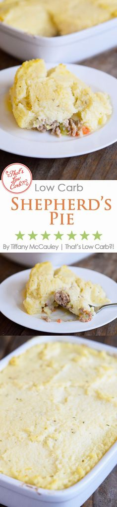Low Carb Shepherd's Pie via @tasteaholics