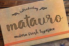 Matauro by Incools Design Studio on @creativemarket