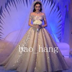 Sparkles Shiny Wedding Dresses Off Shoulder Luxury Cathedral Train Bridal Gowns | Clothing, Shoes & Accessories, Wedding & Formal Occasion, Wedding Dresses | eBay!