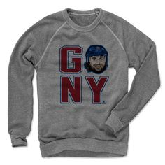 Mats Zuccarello Go NY R New York R Officially Licensed NHLPA Crew Sweatshirt S-2XL