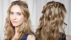 How to Do A Waterfall Braid in Under 5 Minutes