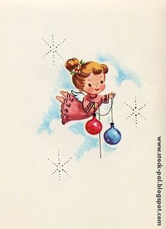 Love vintage Christmas cards!