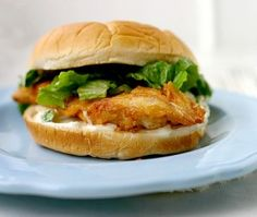 Real Fast Food: Spicy Chicken Sandwiches. Like Wendy's but not as spicy.