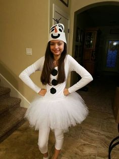 Olaf inspired teen costume for homecoming week costumes olaf diy halloween costume solutioingenieria Image collections