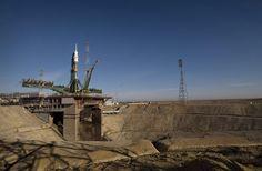 Cosmódromo de Baikonur / Es la mayor y más antigua (1955) instalación de lanzamiento espacial en el mundo. Está bajo control de Rusia, desde la colapso de la URSS en 1992, aunque se ubica en Kazajistán.