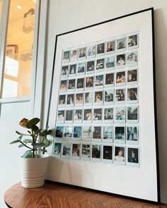 Polaroid Pictures Display, Polaroid Display, Polaroid Collage, Polaroids On Wall, Polaroid Picture Frame, Polaroid Wand, Polaroid Foto, Photo Wall Collage, Picture Wall