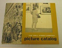 Wall Street Company Picture Catalog NY Stock Exchange Art Prints Dali Vintage FS