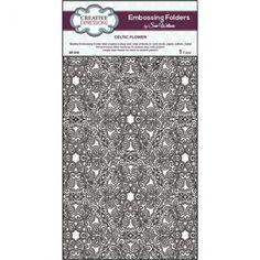 Creative Expressions EF-016 - Папка за релеф А4 - Celtic Flower