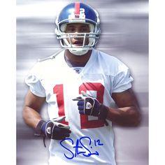 "Steve Smith New York Giants Fanatics Authentic Autographed 8"" x 10"" Head Shot Photograph - $9.49"