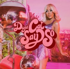 Lirik Lagu Doja Cat - Say so Lengkap Iconic Album Covers, Cool Album Covers, Music Album Covers, Music Albums, Box Covers, Bedroom Wall Collage, Photo Wall Collage, Picture Wall, Aesthetic Pastel Wallpaper