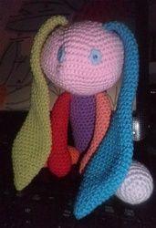 conejito multicolor