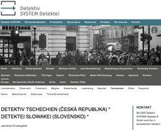 Detektiv SYSTEM Detektei ® operiert in Tschechien • https://plus.google.com/117031908166669393983/posts/fpCGS6snzgy