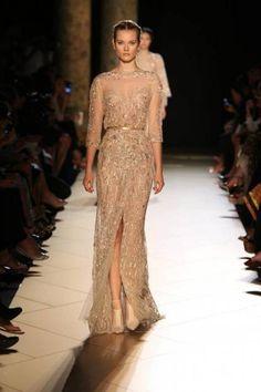 Elie Saab 2013, lujo extremo en vestidos para novias e invitadas de boda [Fotos]