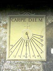 Carpe diem - seize the day  - Wikipedia, the free encyclopedia