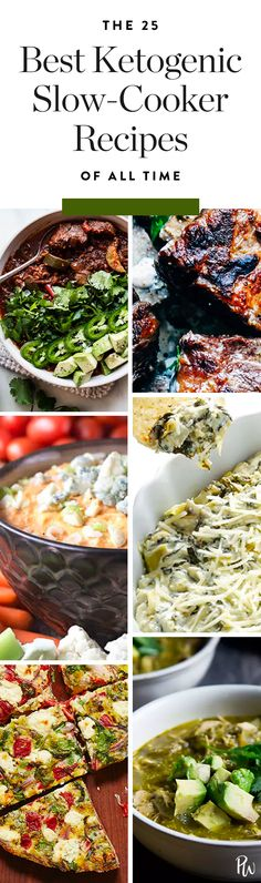 if you're a set-it-and-forget-it type, you'll love these 25 ketogenic slow cooker recipes. #slowcooker #ketogenicdiet #keto #ketodiet #ketogenic #slowcooker #slowcookerrecipes #crockpot