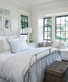 bright and serene cottage bedroom
