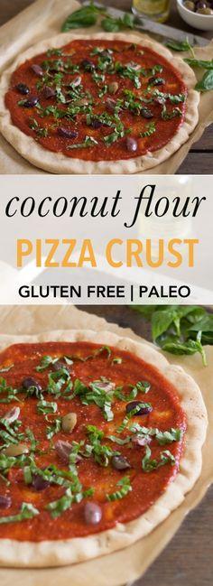 Coconut Flour Pizza Crust   Empowered Sustenance