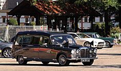 British Daimler Hearse, this is the style of hearse used in Princess Diana's funeral