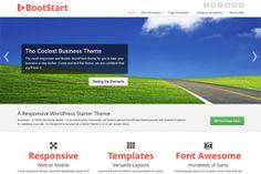 Bootstart http://www.gabfirethemes.com/wp-themes/