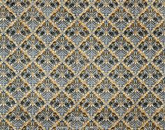 Indian furnishing fabric, by William Morris. England, 1875