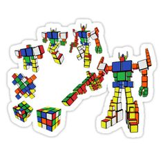 Rubik's cube transformer revenge