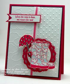 The Stampin' Schach—Wellies from Bootiful Occasions—SU