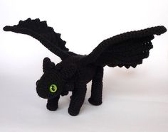 Toothless Dragon Amigurumi Pattern : I just bought this pattern can t wait to make it it is adorable