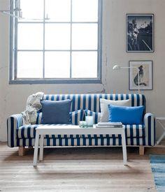 I love this sofa...  Trend: Nordic Blue | Bemz