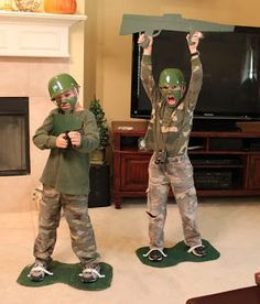 Do it yourself halloween costumes toy soldier costume soldier army men costumes solutioingenieria Gallery