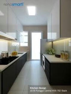 interior kitchen cabinet design hdb 3 room flat (2) #renovation