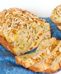 Breakfast & Brunch Archives - Page 3 of 6 - Tatyanas Everyday Food Zuchinni Bread, Zucchini Bread Recipes, Easy Bread Recipes, Cooking Recipes, Apricot Bread Recipe, Apricot Recipes, Sweet Recipes, Fall Recipes, Kid Desserts