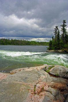 Near Saskatchewan's Churchill River.