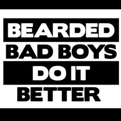 Come see the worlds Baddest Beard Club @beardedbadboys on Instagram and Facebook