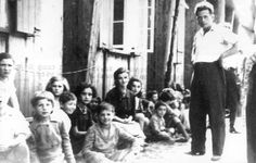 Beith Bialik, Salzburg, Austria, 1946, Orphans arriving at a DP camp.